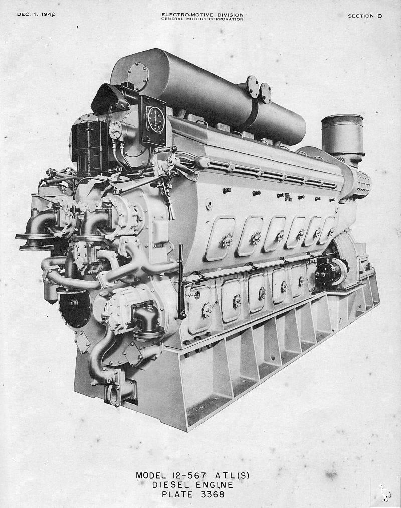 gm 12 567 diesel engine for lst rh landingship com Electrical Potential Difference Electromotive Force Electro-Motive Chicago